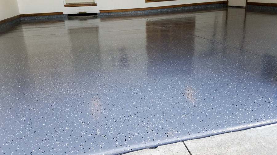 Garage Floor Coating Installation In Albany In Slide Lok