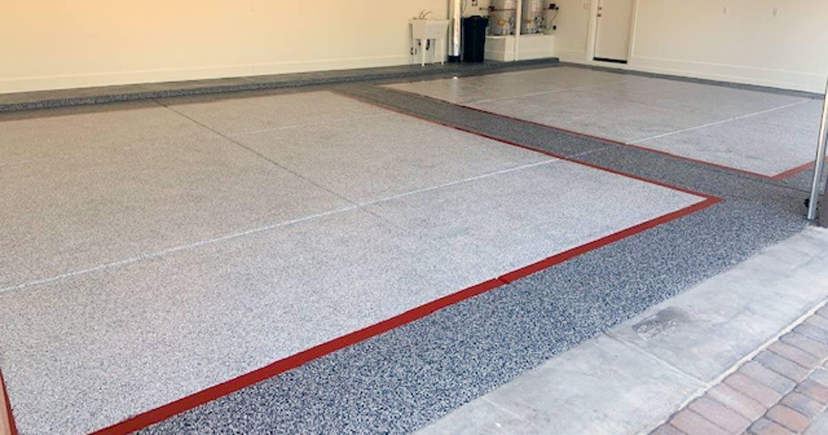 Custom Epoxy Garage Floor Coatings In