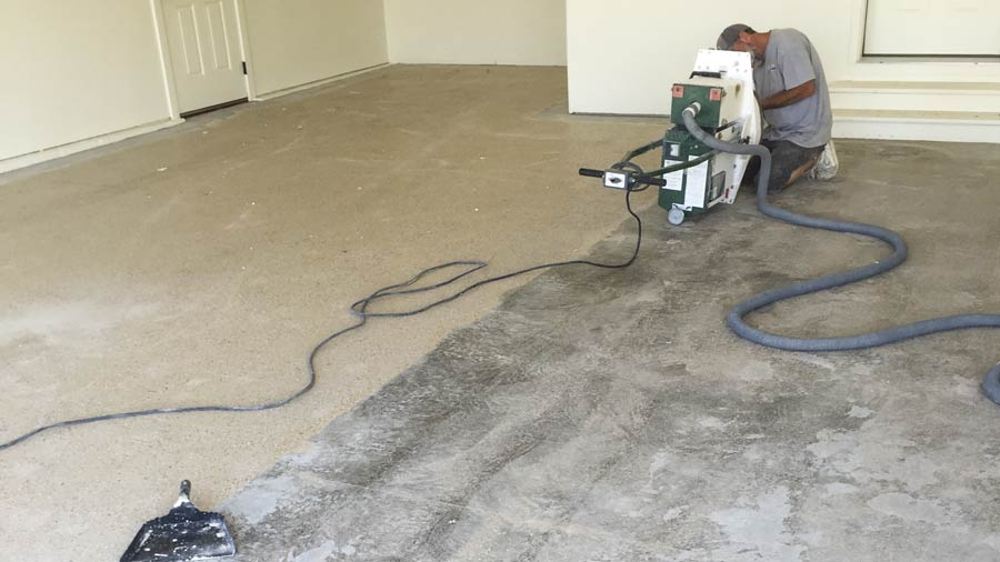 Diy Epoxy Garage Floor Coating Repair Casper Wy