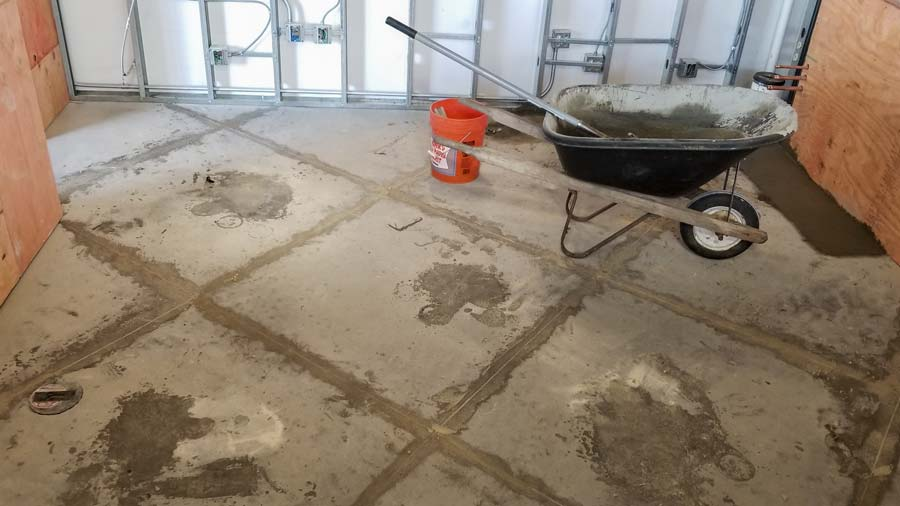 Tremendous Commercial Kitchen Flooring Install In Dublin Ohio Home Interior And Landscaping Synyenasavecom