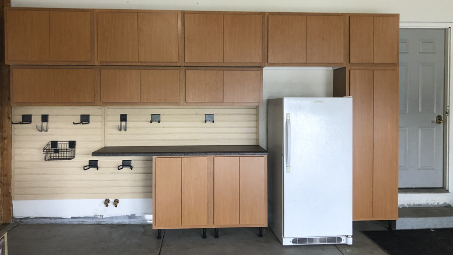 Garage Cabinets Installed In Wyoming Mi Slide Lok