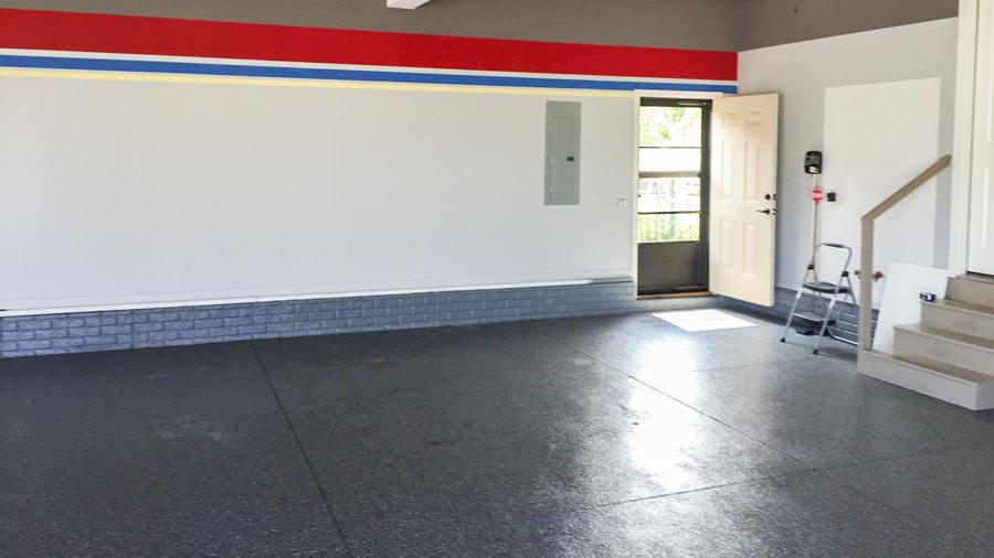 Garage Flooring And Painting In Omaha Nebraska Slide Lok