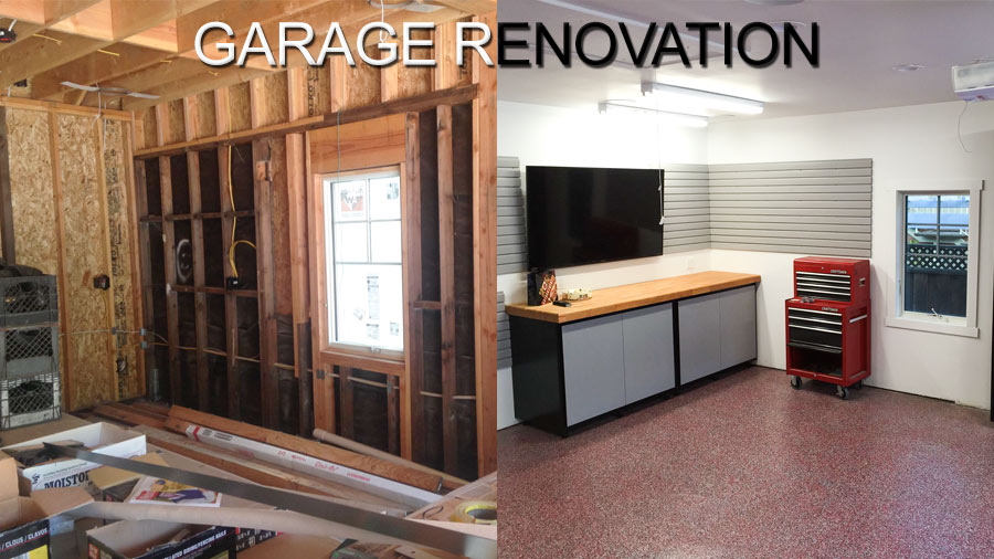 Garage Renovation Before And After Mycoffeepot Org