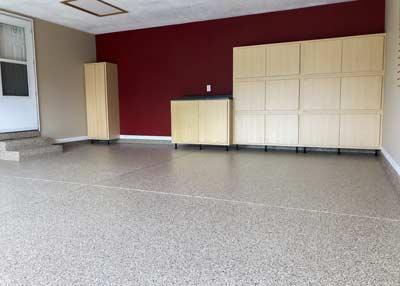 Garage renovation project