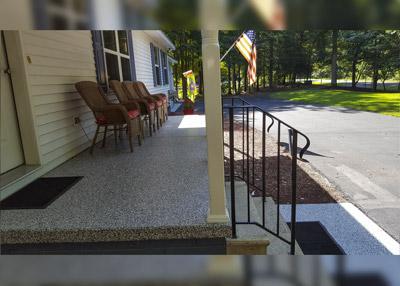 Concrete Floor Coating Repair