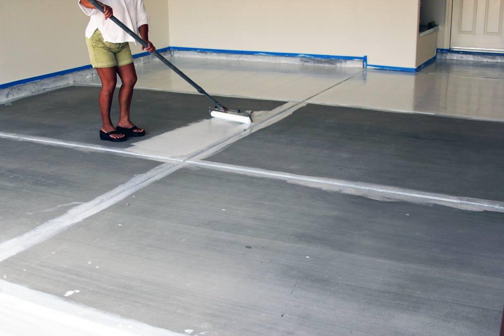 Diy Epoxy Garage Floor Coating Install In Tucson Az