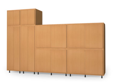 Storage Cabinet Wall