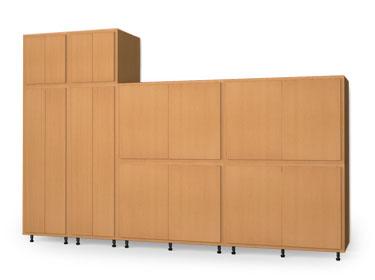 Storage Cabinet Wall