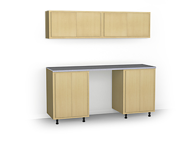 Cabinet Workstation System