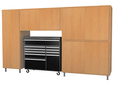 Best Garage Cabinets For The Money - Modular Plywood Cabinets