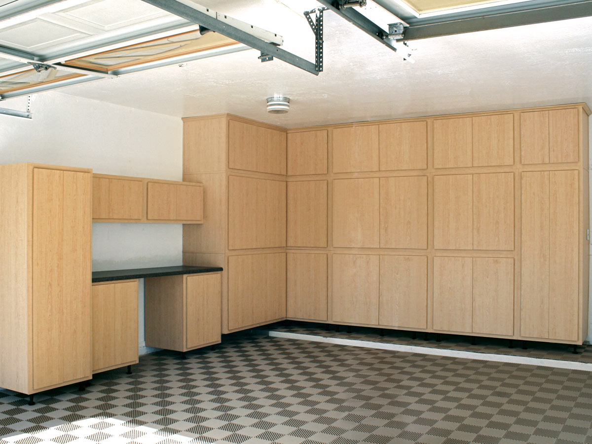 Floor To Ceiling Garage Cabinets Ceiling Design Ideas