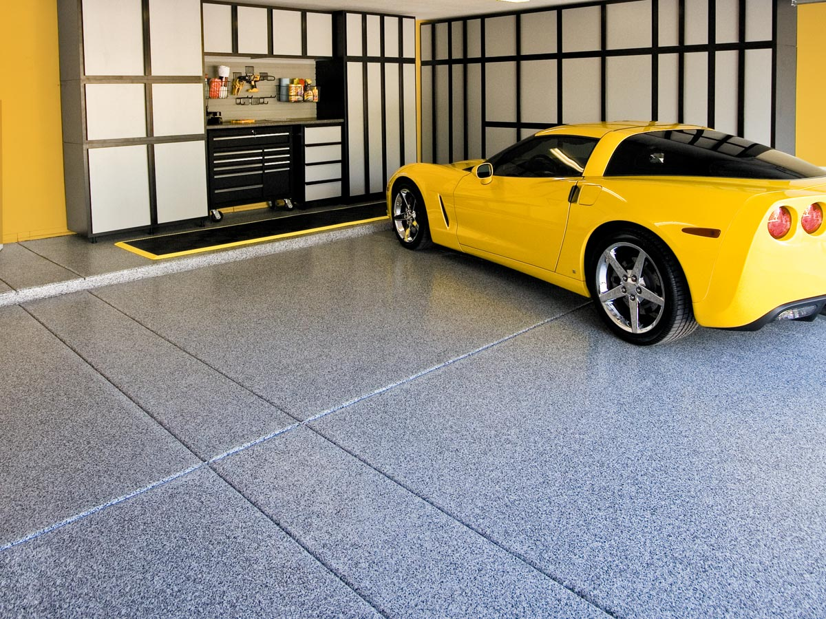 Slide Lok Garage Flooring Photos Best Polyaspartic Floor Coating