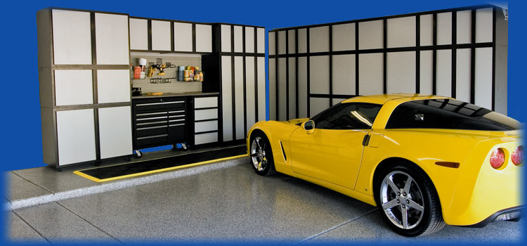 garage interiors storage ideas