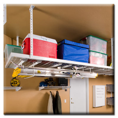 Ceiling Mounted Storage Racks