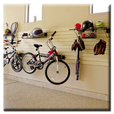Garage Slatwall Storage Ideas