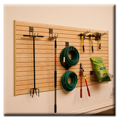 Garage Slatwall Ideas